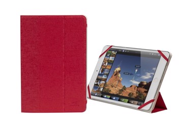 "Picture of RivaCase 3122 white/red double-sided tablet cover 7-8"" Θήκη tablet"