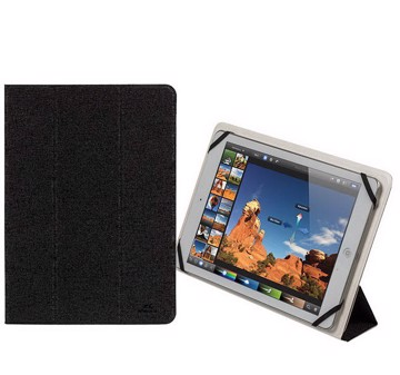 "Εικόνα της RivaCase Malpensa 3127 black/white double-sided tablet cover 10,1"" Θήκη tablet"
