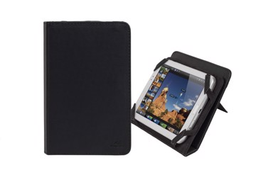 "Εικόνα της RivaCase Gatwick 3212 black kick-stand tablet folio 7"" Θήκη tablet"