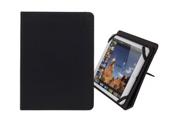"Picture of RivaCase Gatwick 3217 black kick-stand tablet folio 10.1"" Θήκη tablet"