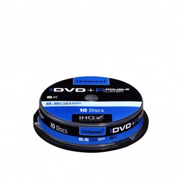 Picture of Intenso DVD+R Double Layer 10 Cake Box 8.5 GB