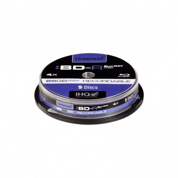 Εικόνα της Intenso BLU-RAY 25GB RECORDABLE 5 Cake Box