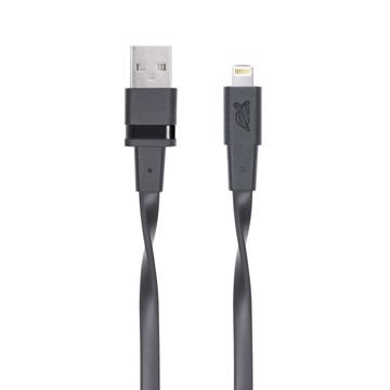 Picture of RIVAPOWER 6001 BK12 MFi Lightning cable 1.2m black /96