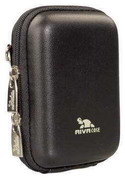 Picture of RivaCase 7023 (PU) Davos Digital Case black leather Θήκη φωτογραφικής μηχανής