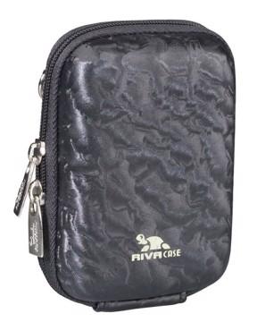 Picture of Riva 7023 (PU) Digital Case black shiny wave 12/96