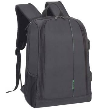 Picture of RivaCase 7490 (PS) Green Mantis SLR Backpack black Τσάντα μεταφοράς DSLR