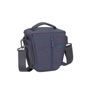 Picture of RivaCase 7501 Alpendorf SLR Canvas Case Small grey Τσάντα μεταφοράς DSLR