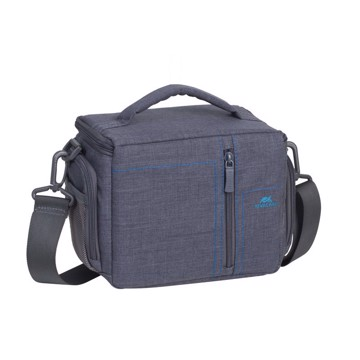 Picture of RivaCase 7502 Alpendorf SLR Canvas Case grey Τσάντα μεταφοράς DSLR