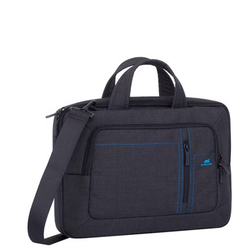 Picture of RivaCase 7520 Alpendorf black Canvas Laptop bag 13.3-14'' Τσάντα μεταφοράς Laptop