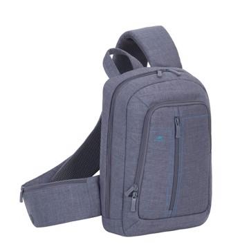 Εικόνα της RivaCase 7529 Alpendorf grey Laptop Sling backpack 13.3'' Τσάντα μεταφοράς Laptop