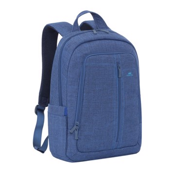 "Picture of RivaCase 7560 Alpendorf Laptop Canvas Backpack 15.6"" blue Τσάντα μεταφοράς Laptop"