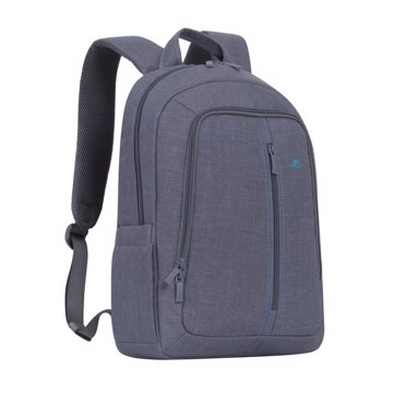 "Picture of RivaCase 7560 Alpendorf Laptop Canvas Backpack 15.6"" grey Τσάντα μεταφοράς Laptop"