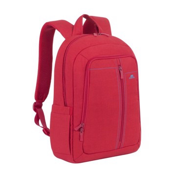 "Εικόνα της Riva Case 7560 Alpendorf Laptop Canvas Backpack 15.6"" red Τσάντα μεταφοράς Laptop"