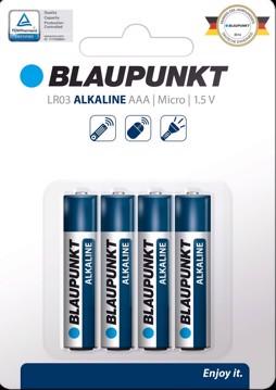 Εικόνα της BLAUPUNKT Alkaline LR03  AAA 4 pack
