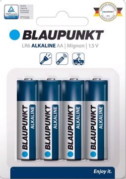 Εικόνα της Blaupunkt Alkaline LR6 AA 4 pack
