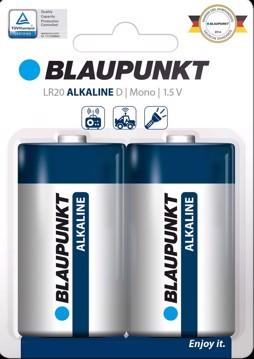 Εικόνα της Blaupunkt Alkaline LR20 D  2 pack