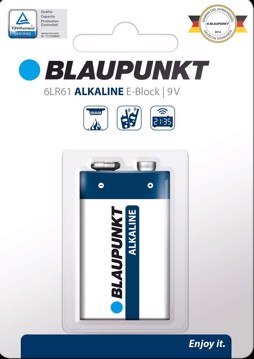 Picture of Blaupunkt Alkaline 6LR61 9V 1 pack