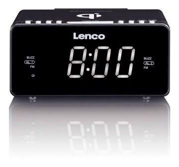 Picture of LENCO CLOCK RADIO CR-550 BLACK Ράδιοξυπνητήρι