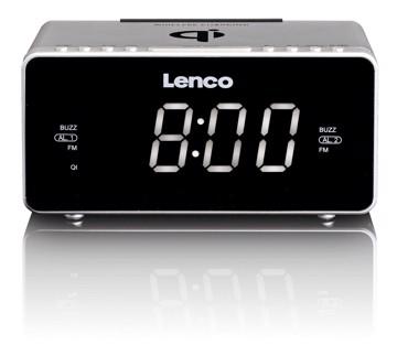 Picture of LENCO CLOCK RADIO CR-550 SILVER Ράδιοξυπνητήρι