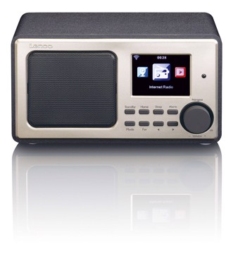 Picture of LENCO INTERNET RADIO DIR-100 BLACK Ραδιόφωνο διαδικτύου