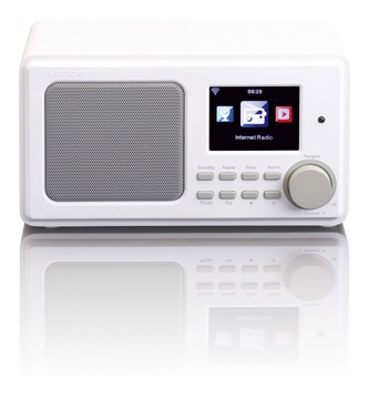 Picture of LENCO INTERNET RADIO DIR-100 WHITE Ραδιόφωνο διαδικτύου