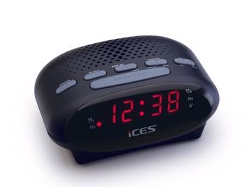 Picture of LENCO CLOCK RADIO ICR-210 BLACK Ράδιοξυπνητήρι