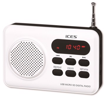 Picture of LENCO RADIO IMPR-112 WHITE Φορητό Ραδιόφωνο