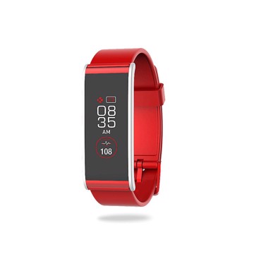 Picture of MYKRONOZ ZEFIT4HR RED/SILVER Activity tracker