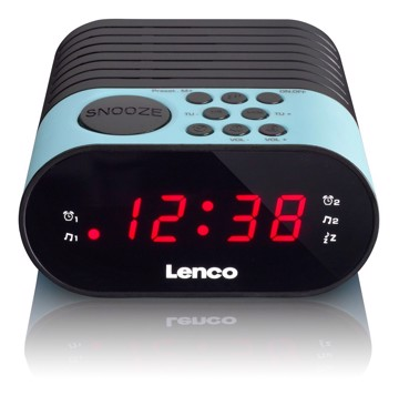 Picture of LENCO CLOCK RADIO CR-07 BLUE Ράδιοξυπνητήρι