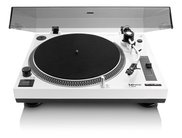 Picture of LENCO TURNTABLE L-3808 WHITE Πικάπ