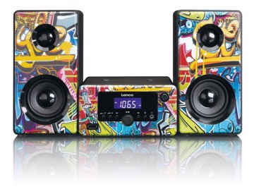 Εικόνα της LENCO SOUND SYSTEM MC-020 TAGS Micro Hi-Fi