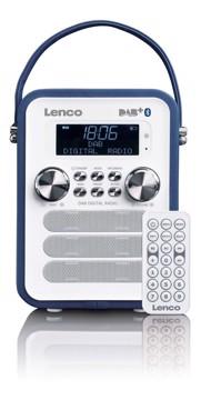 Εικόνα της LENCO RADIO PDR-50 BLUE Φορητό ραδιόφωνο DAB +