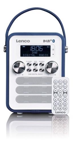 Φωτογραφία από LENCO RADIO PDR-50 BLUE Φορητό ραδιόφωνο DAB +