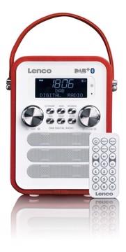 Εικόνα της LENCO RADIO PDR-50 RED Φορητό ραδιόφωνο DAB +