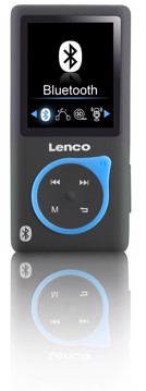Picture of LENCO MP3/MP4 PLAYER XEMIO-767 BLUE Συσκευή αναπαραγωγής MP3/MP4