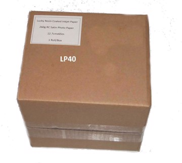Picture of LUCKY DRY LAB PAPER 12,7cmx100m SATIN 260g/m2