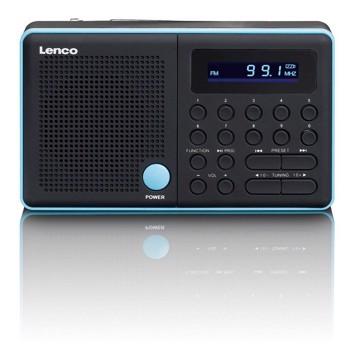 Εικόνα της LENCO RADIO MPR-034 BLUE Φορητό ραδιόφωνο