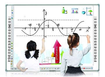 "Picture of INTECH INTERACTIVE WHITEBOARD 91"" SR8589D TEN POINT TOUCH"
