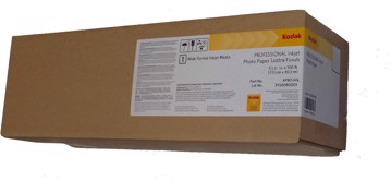 Picture of Kodak Professional Inkjet Photo Paper Lustre 111cm x 30m 255gr