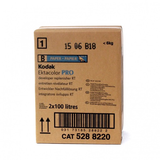 Picture of 2 X 100 L  ECTACOLOR PRO DEVELOPER RPLR RT  PART B