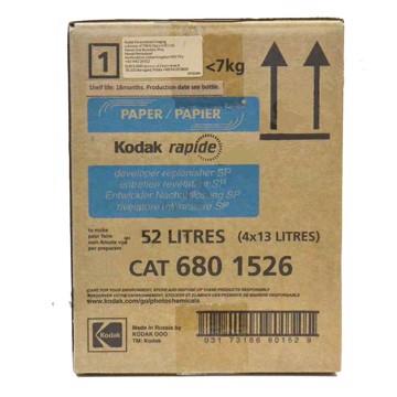 Picture of 4X13L KODAK ECTACOLOR RAPID DEVELOPER RPLR