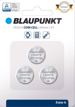 Εικόνα της Blaupunkt Coincell CR2016  3 pack