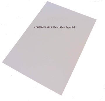 Picture of LUCKY ADHESIVE PAPER 72cmx93cm Type 3-2