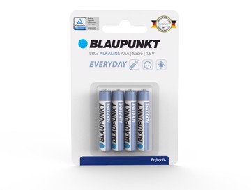 Picture of Blaupunkt Everyday LR03 AAA 4 pack