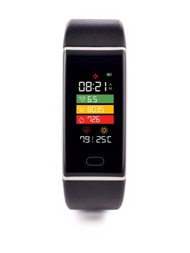 Εικόνα της MYKRONOZ Activity Tracker ZETRACK Black