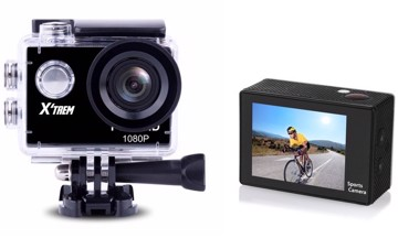 "Picture of X'trem CHD5003S+ FULL HD 1080P and Screen 2"" Action camera"