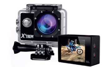 "Picture of X'trem CSD122+ HD 720P and Screen 2"" Action camera"