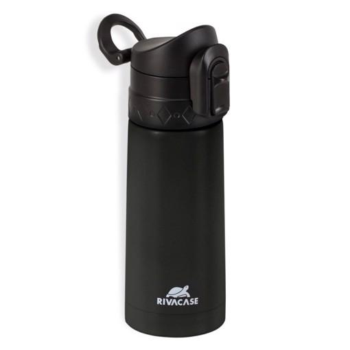 Picture of Rivacase 90351 Βlack Vacuum flask, 0.35L Θερμός Μαύρο