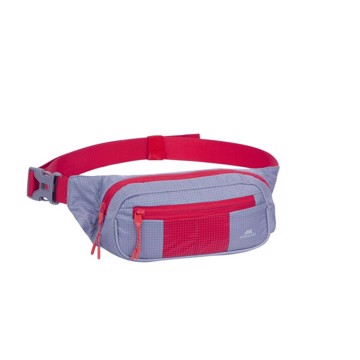 Picture of RivaCase 5215 Mercantour grey/red Waist bag for mobile devices Τσάντα μέσης Γκρι/Κόκκινο