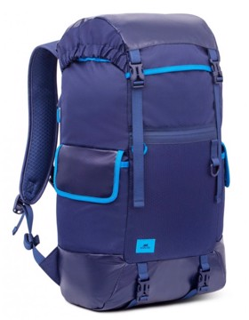 "Picture of RivaCase 5361 Dijon blue 30L Laptop backpack 17.3"" Σακίδιο πλάτης Μπλε"